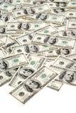 Cem notas de banco do dólar fotos de stock royalty free