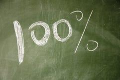 Cem por cento Foto de Stock
