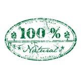 Cem por cento natural Fotografia de Stock Royalty Free