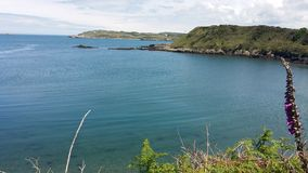 Cemaes Bay stock image