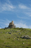 Cembalo Fortress. Balaklava, Cembalo Fortress in restoration Stock Photography