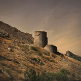 Cembalo Fortress in Balaklava, Crimea Royalty Free Stock Photo