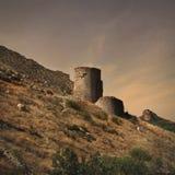 Cembalo Fortress in Balaklava, Crimea Royalty Free Stock Photo