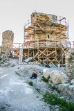 Cembalo is a Genoese  fortress Royalty Free Stock Photos