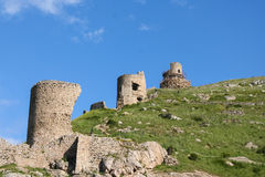 Cembalo is a Genoese  fortress Stock Image