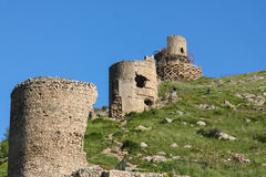 Cembalo is a Genoese  fortress Royalty Free Stock Photo