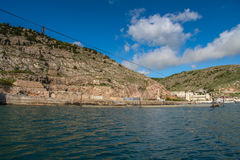 Cembalo jest Genueńskim fortecą Zdjęcie Royalty Free