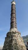 Cemberlitas, columna de Constantina Fotografía de archivo