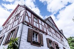 Cembrujący domowy Neef przy Moselle Palatinate Niemcy obrazy royalty free