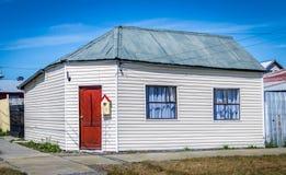 Cembruje kolorowego dom w wsi Chile Fotografia Royalty Free