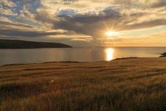 Cemeas huvud, Pembrokeshire Fotografering för Bildbyråer