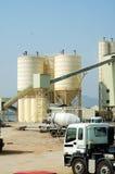 The cememt plant Stock Images