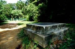 cementów blokowi parks Fotografia Stock