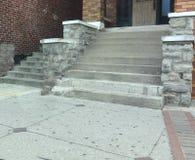 Cementów kroki Obraz Stock