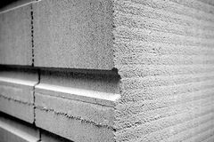 Cement. Detail of a cement block royalty free stock photo
