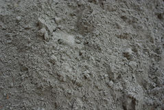 Cement. Abstraction the crumbling of dry cement Royalty Free Stock Photography