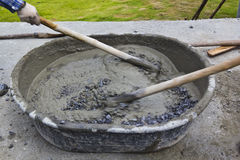 Cement Arkivfoton