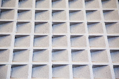 Cement accoustic wall Stock Images