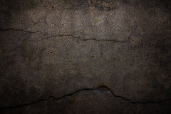 Cement background with cracked leather Stock Images