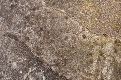 Cement background texture. Cement abstract background texture of a garden path with clear signs of erosion and wear and tear through rain, as well as pedestrian stock photography