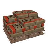 Cement bag Royalty Free Stock Photos
