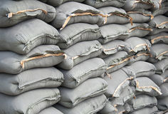Cement bag Royalty Free Stock Image