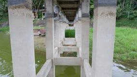 cement beam support pillar concrete bridge construction stock images