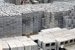Cement block Stock Images