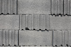 Cement block texture Royalty Free Stock Photo