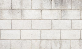 Cement block wall texture and background Royalty Free Stock Photos