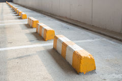 Cement block wheel Stock Photography