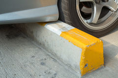 Cement block wheel Stock Images
