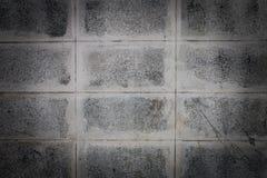 Cement blockerar bakgrund Arkivbilder