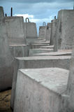 Cement blocks Royalty Free Stock Photos