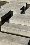 Cement blocks. Cement blocks artistically arranged in a park in Japan Royalty Free Stock Photography