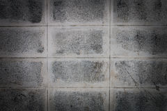 Cement blocks background Stock Images