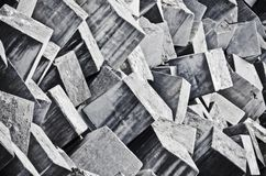Cement blocks Royalty Free Stock Photo