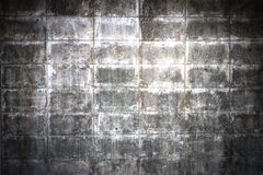 Cement blocks wall Stock Photography