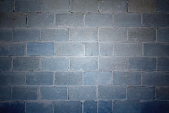 Cement blocks wall textured background Stock Image
