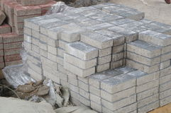Cement brick Stock Images