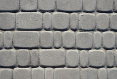 Cement brick floor background Royalty Free Stock Photo