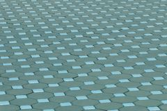 Cement brick floor for pattern Stock Image