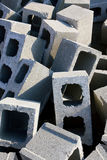 Cement bricks royalty free stock images