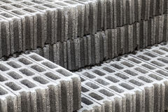 Cement bricks Stock Photos