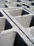 Cement bricks. Ready to use in building construction Royalty Free Stock Photography
