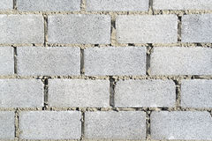 Cement bricks stacked Royalty Free Stock Image