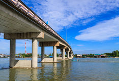 Cement bridges Royalty Free Stock Photos