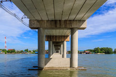 Cement bridges Royalty Free Stock Image