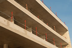 Cement building in construction Royalty Free Stock Photography