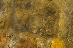 Cement canvas background base light beige brown old weathered surface grunge style design base stock photos